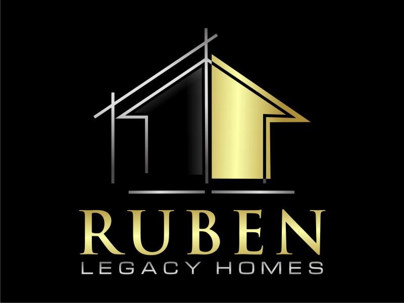 Ruben Legacy Homes logo design by sheila valencia