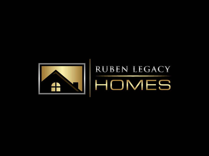 Ruben Legacy Homes logo design by pencilhand