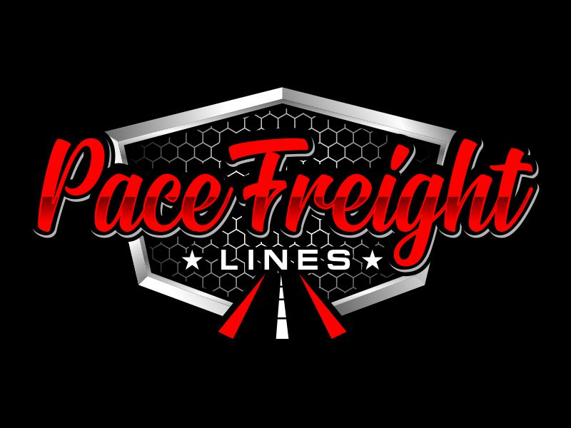 Pace Freight Lines logo design by kopipanas