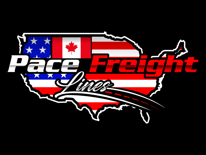 Pace Freight Lines logo design by Suvendu