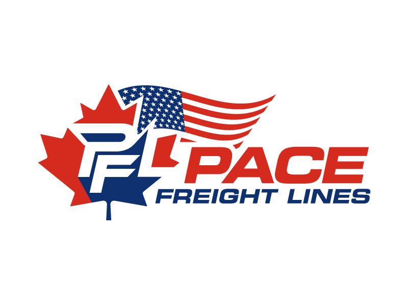 Pace Freight Lines logo design by aRBy