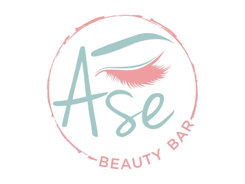 Ase Beauty Bar logo design by qqdesigns