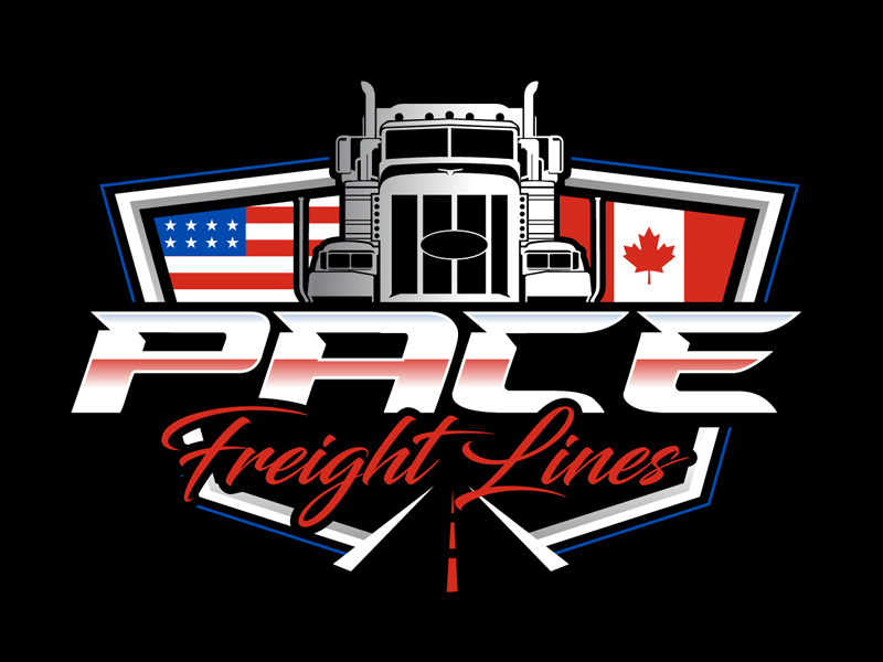 Pace Freight Lines logo design by DreamLogoDesign