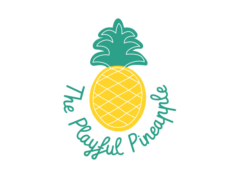 The Playful Pineapple logo design by uunxx