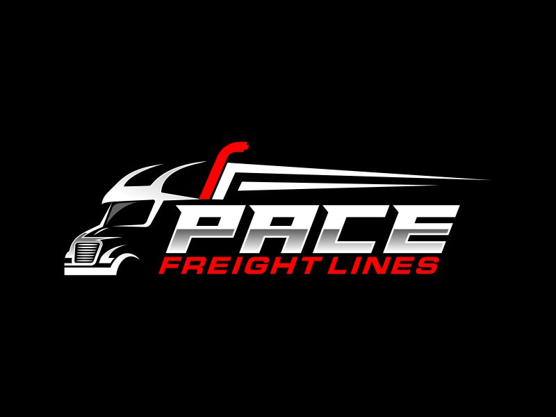 Pace Freight Lines logo design by zonpipo1