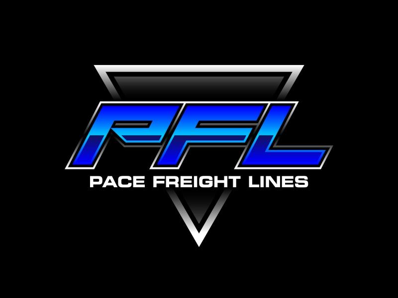 Pace Freight Lines logo design by ekitessar