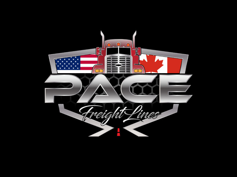 Pace Freight Lines logo design by nona