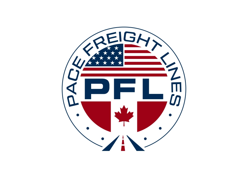 Pace Freight Lines logo design by ingepro
