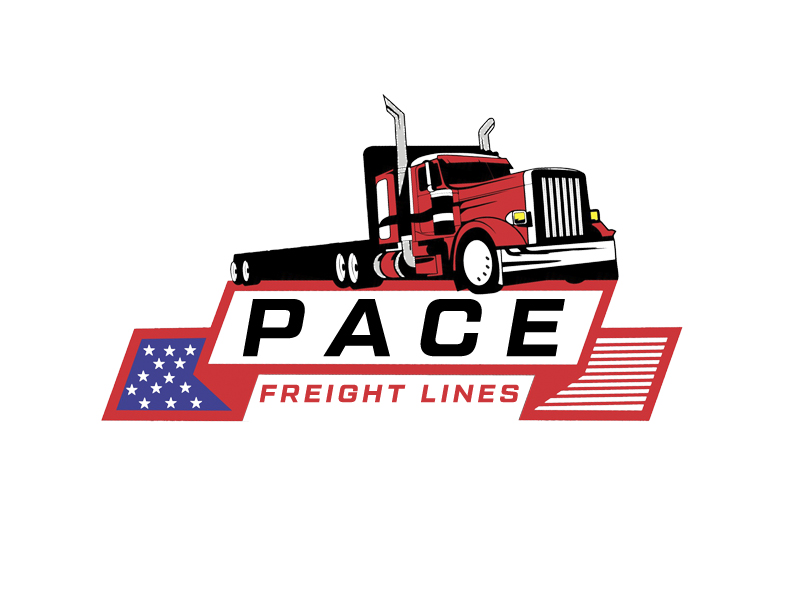 Pace Freight Lines logo design by senja03
