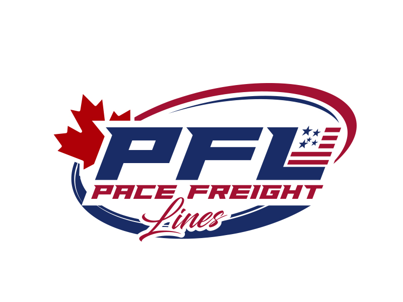 Pace Freight Lines logo design by MarkindDesign™