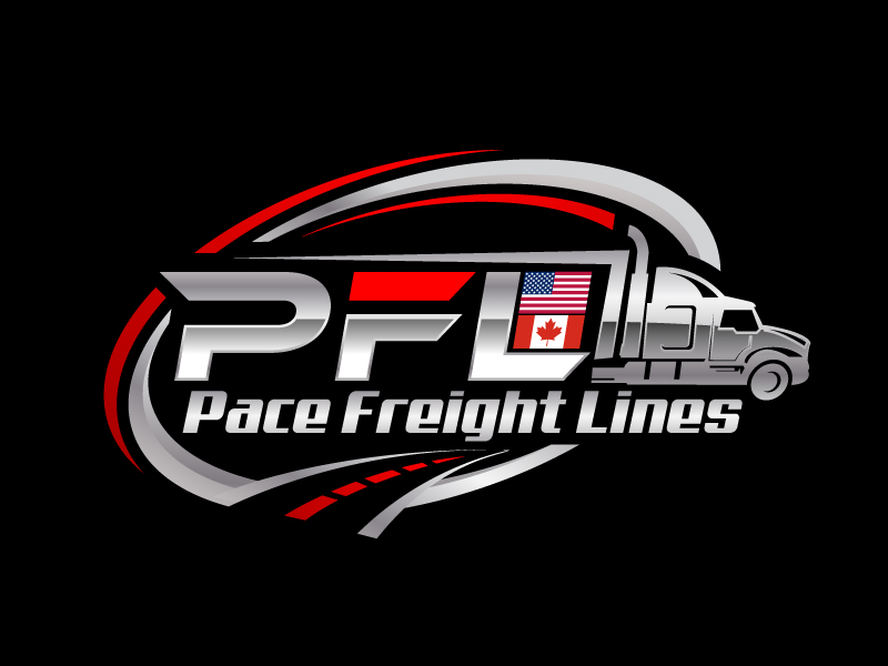 Pace Freight Lines logo design by jaize