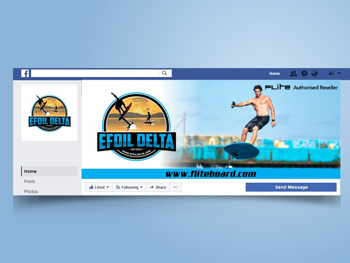 Efoil Delta logo design by Thuwan Aslam Haris