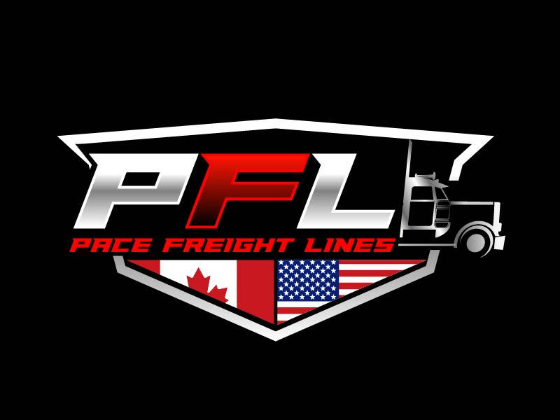 Pace Freight Lines logo design by axel182
