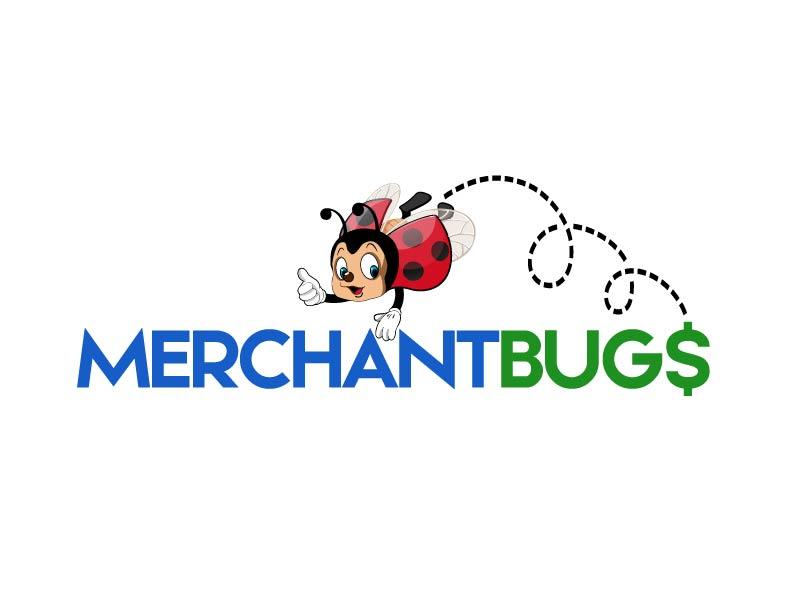 MerchantBugs logo design by axel182