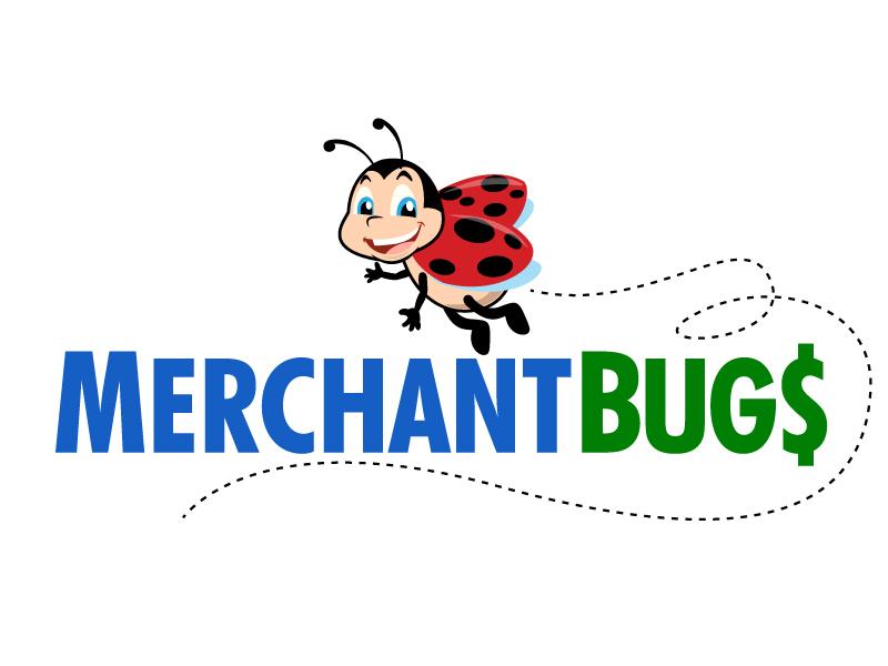 MerchantBugs logo design by jaize