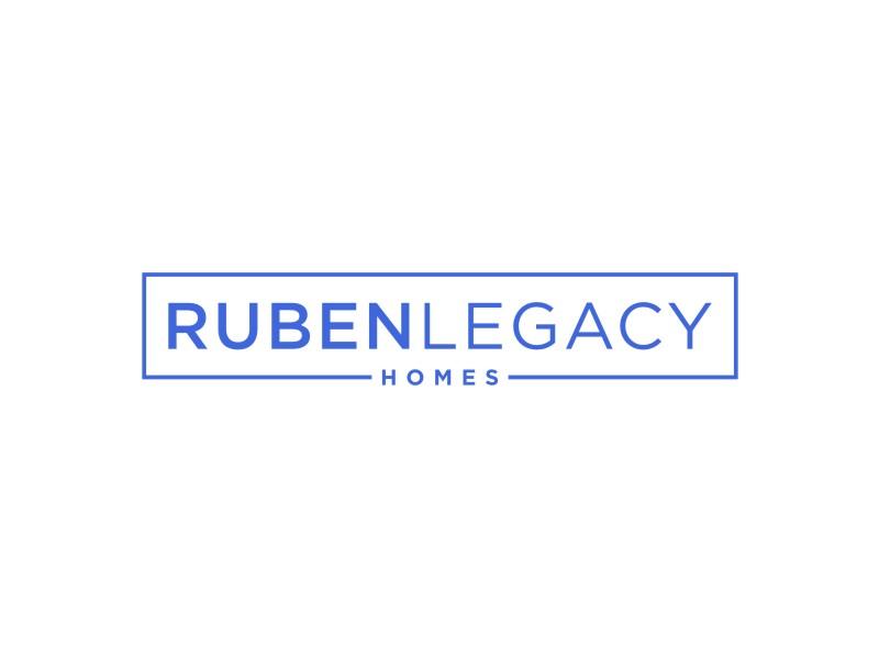Ruben Legacy Homes logo design by Arto moro