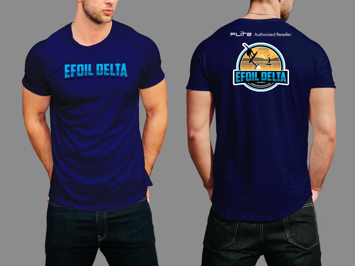 Efoil Delta logo design by Masters Designs