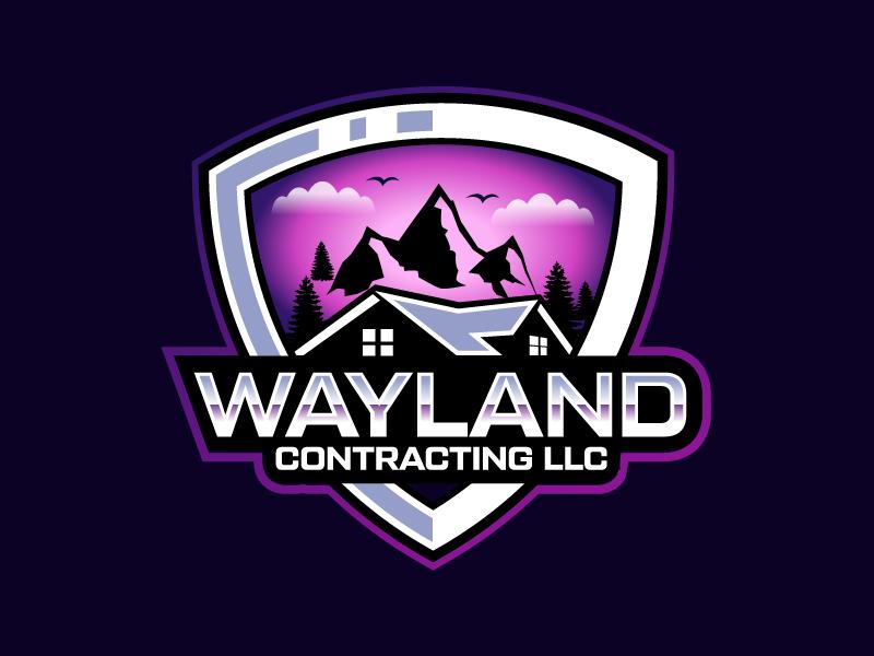 Wayland Contracting LLC logo design by czars