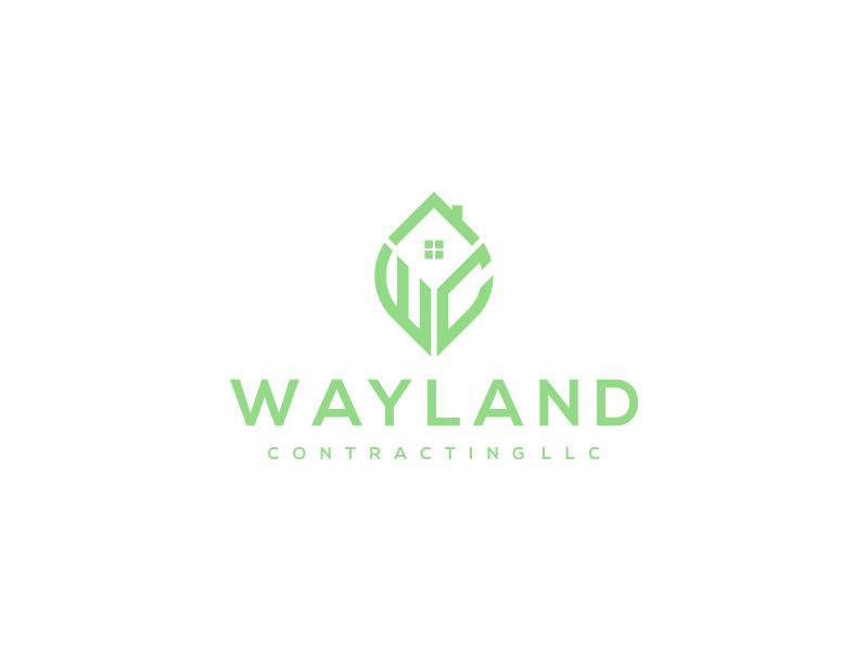 Wayland Contracting LLC logo design by hoqi