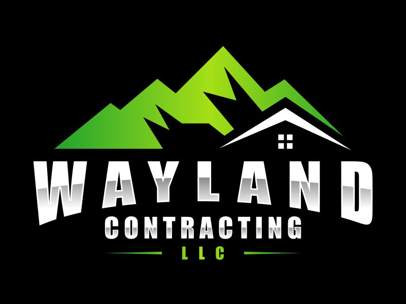 Wayland Contracting LLC logo design by funsdesigns