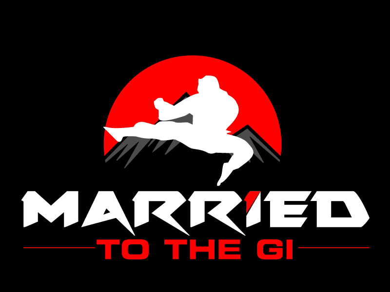 """""""Married to The Gi"""" , but if aesthetically that doesn't work I completely understand. logo design by ElonStark"""