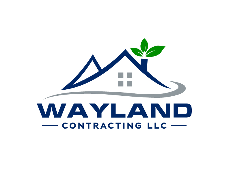 Wayland Contracting LLC logo design by Marianne