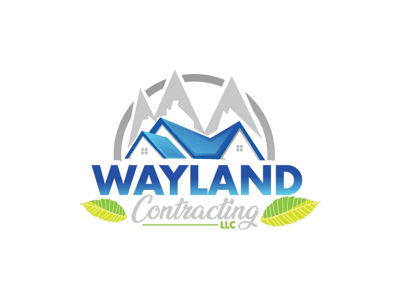 Wayland Contracting LLC logo design by Shailesh