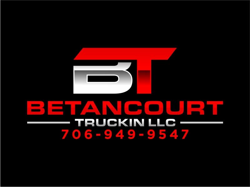 Betancourt Truckin LLC logo design by cintoko