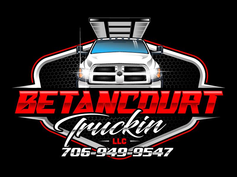 Betancourt Truckin LLC logo design by LogoQueen