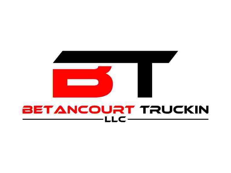 Betancourt Truckin LLC logo design by Sheilla