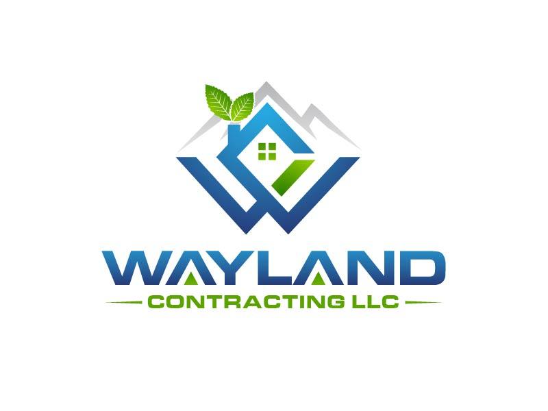Wayland Contracting LLC logo design by usef44