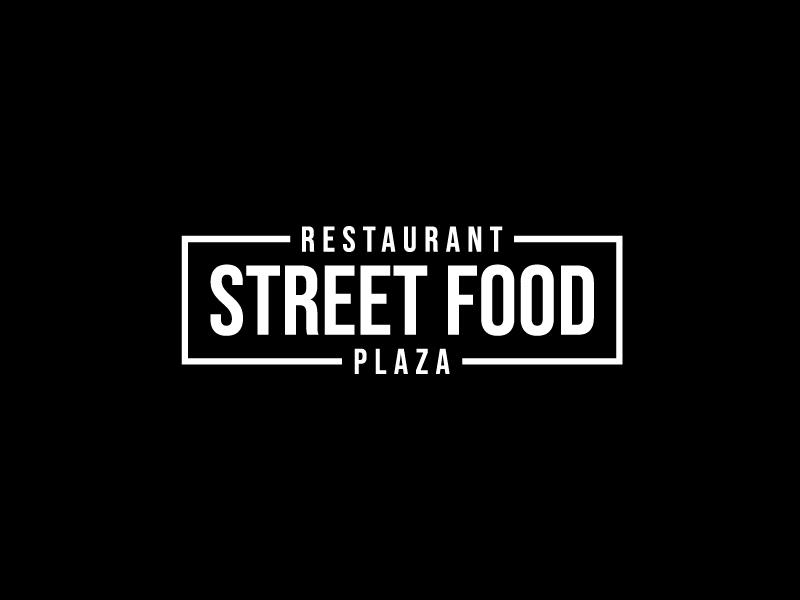 Restaurant STREET FOOD Plaza Logo Design