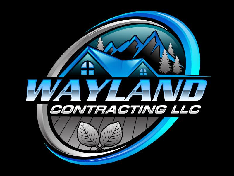 Wayland Contracting LLC logo design by Suvendu