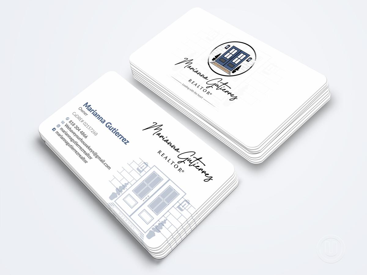 Marianna Gutierrez logo design by Ulid