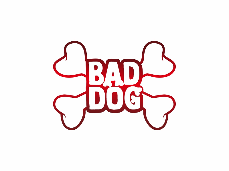 Bad Dog logo design by Ulid