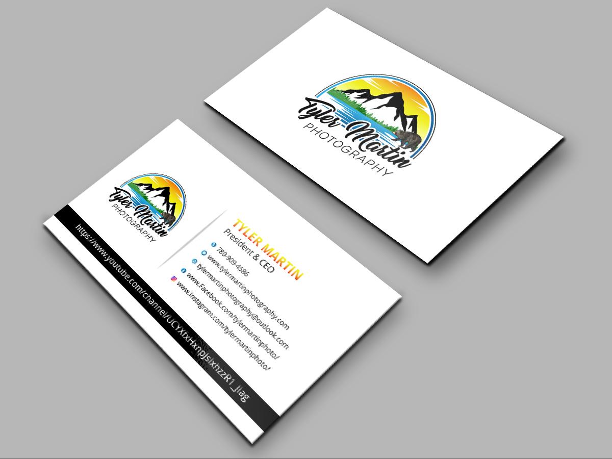 Tyler Martin Photography logo design by grea8design