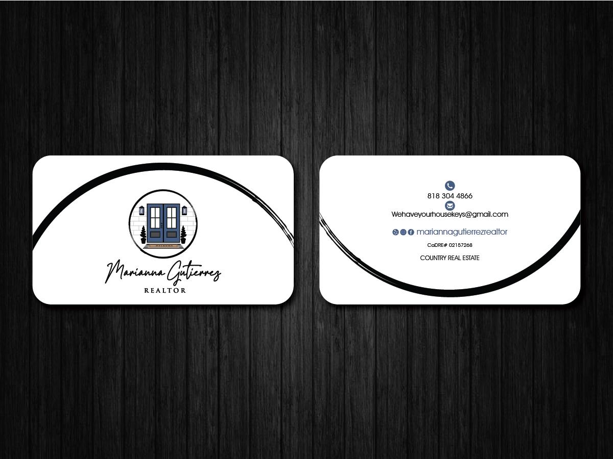 Marianna Gutierrez logo design by artbitin