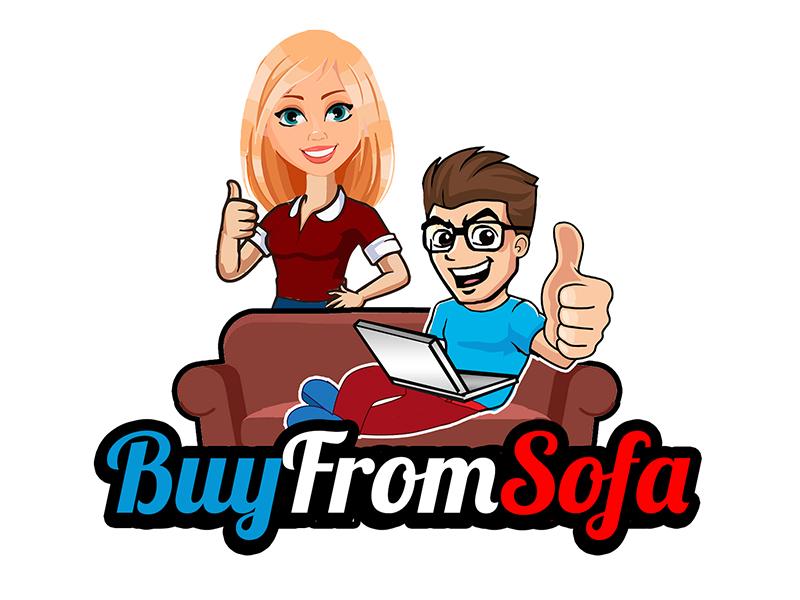 buyfromsofa logo design by PrimalGraphics