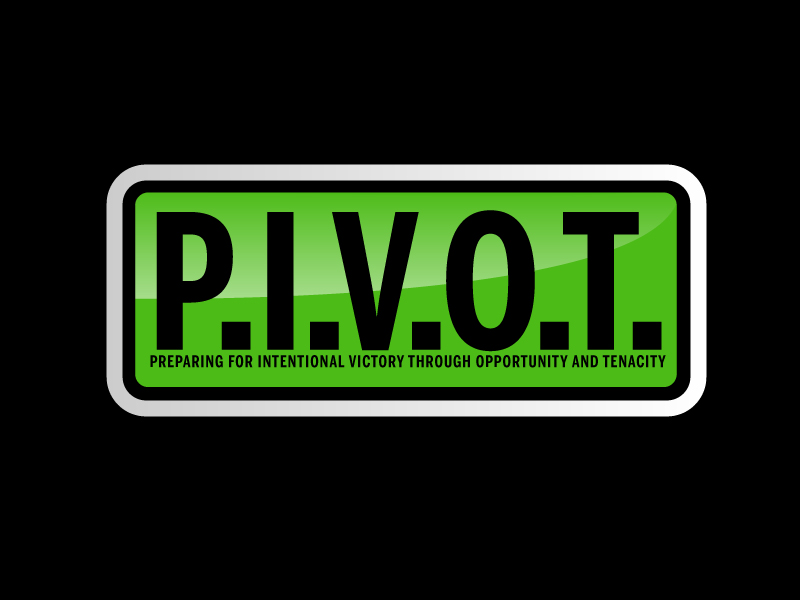 P.I.V.O.T. logo design by ElonStark