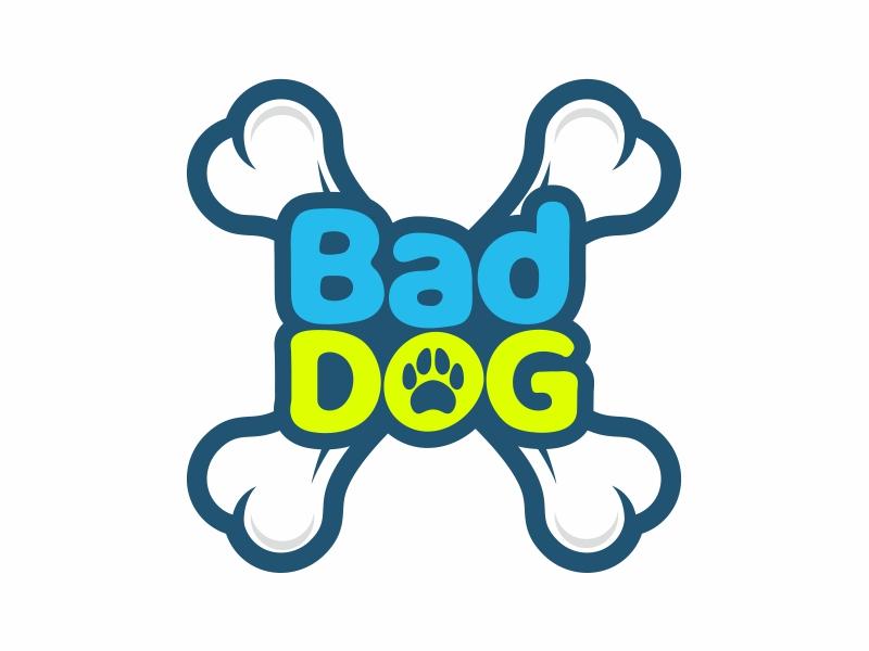 Bad Dog logo design by mutafailan