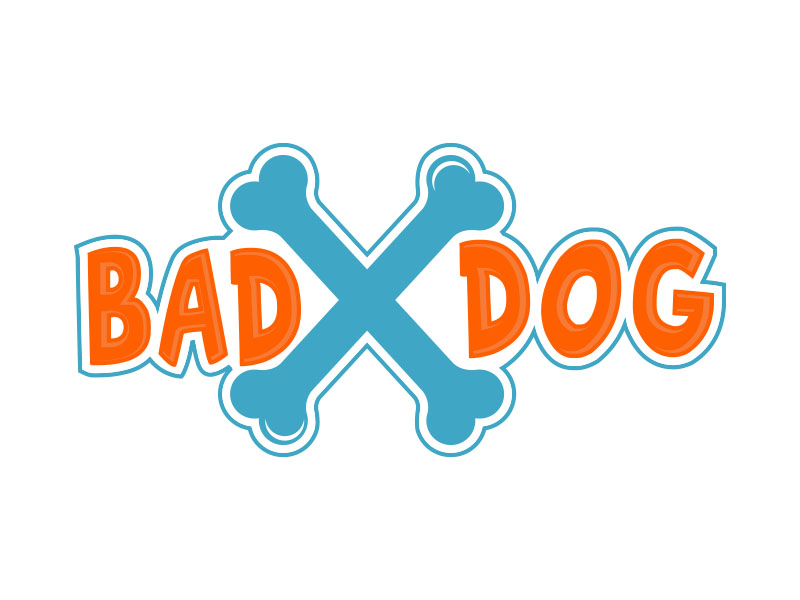 Bad Dog logo design by bluespix