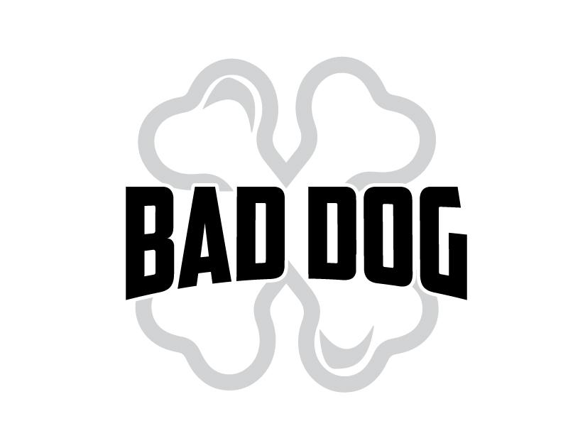 Bad Dog logo design by ElonStark