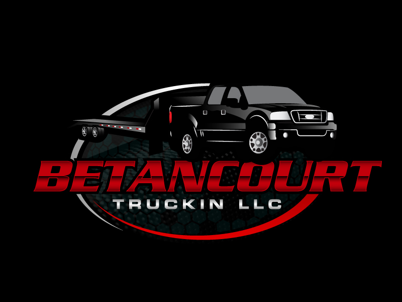 Betancourt Truckin LLC logo design by karjen