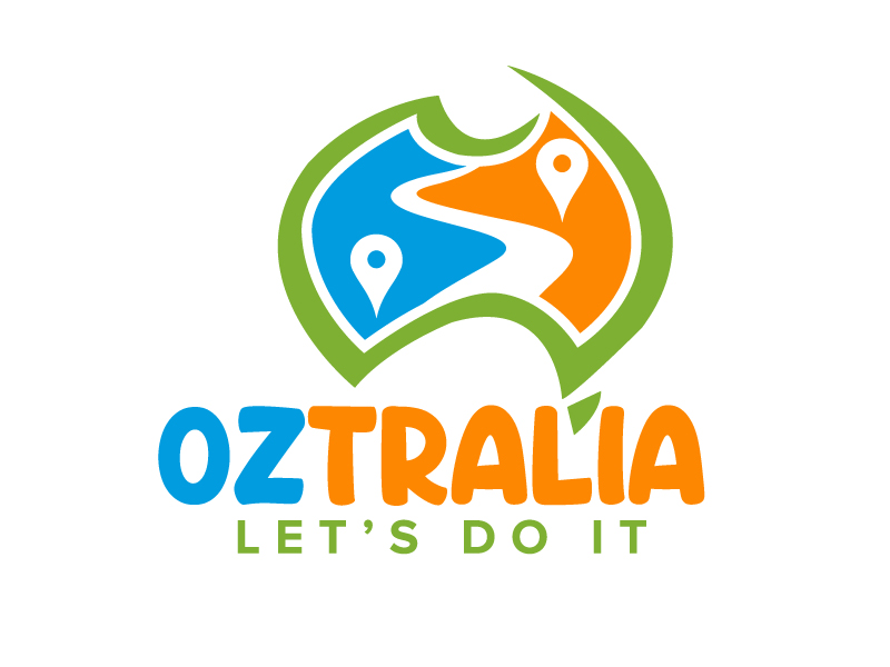 Oztralia Let's Do It logo design by jaize