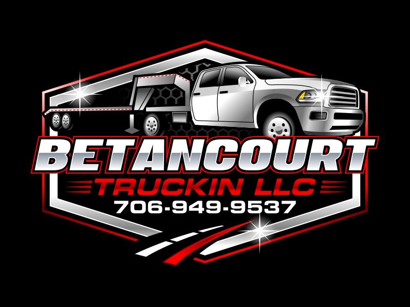 Betancourt Truckin LLC logo design by ingepro