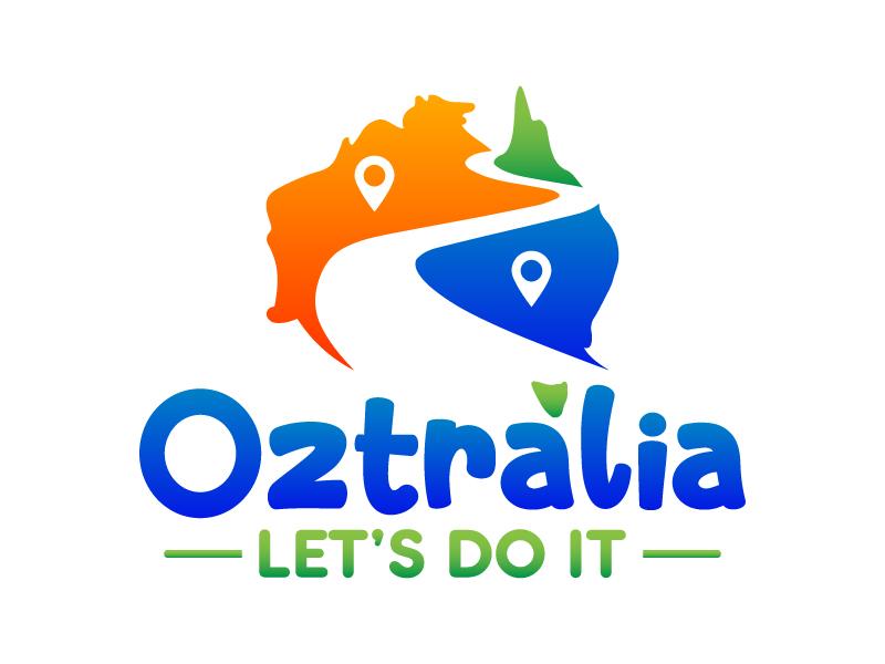 Oztralia Let's Do It logo design by Kirito