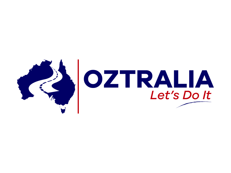 Oztralia Let's Do It logo design by karjen