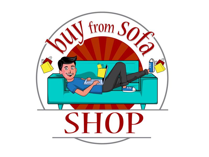 buyfromsofa logo design by DreamLogoDesign