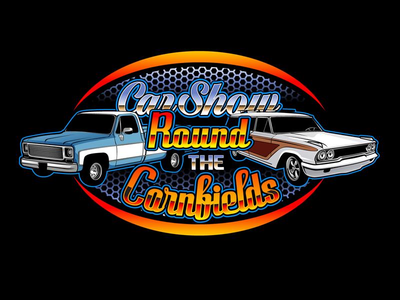 Car Show 'Round the Cornfields logo design by DreamLogoDesign