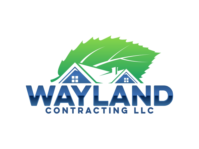 Wayland Contracting LLC logo design by ekitessar
